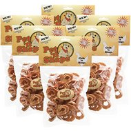 Pet 'n Shape Chik 'n Rings Dog Treats, 8-oz bag, 6 pack