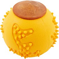 Starmark RubberTuff Treat Ball Dog Toy, Large