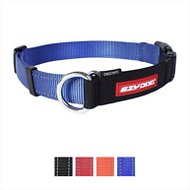 EzyDog Checkmate Dog Collar, Blue, Small