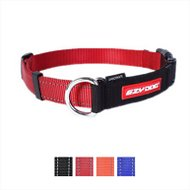 EzyDog Checkmate Dog Collar, Red, Large