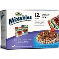 Variety Pet Foods Mixables Beef Lovers Variety Pack Dog Food Pouches, 3-oz, case of 12
