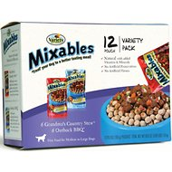 Variety Pet Foods Mixables Beef Lovers Variety Pack Dog Food Pouches, 5.3-oz, case of 12