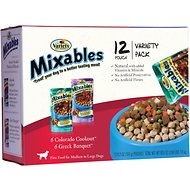 Variety Pet Foods Mixables Mixed Grill Variety Pack Dog Food Pouches, 5.3-oz, case of 12
