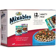 Variety Pet Foods Mixables Variety Pack Dog Food Pouches, 3-oz, case of 12