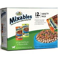 Variety Pet Foods Mixables Poultry Lovers Variety Pack Dog Food Pouches, 5.3-oz, case of 12
