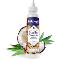 Petpost Ear Cleaner for Dogs, 8-oz bottle