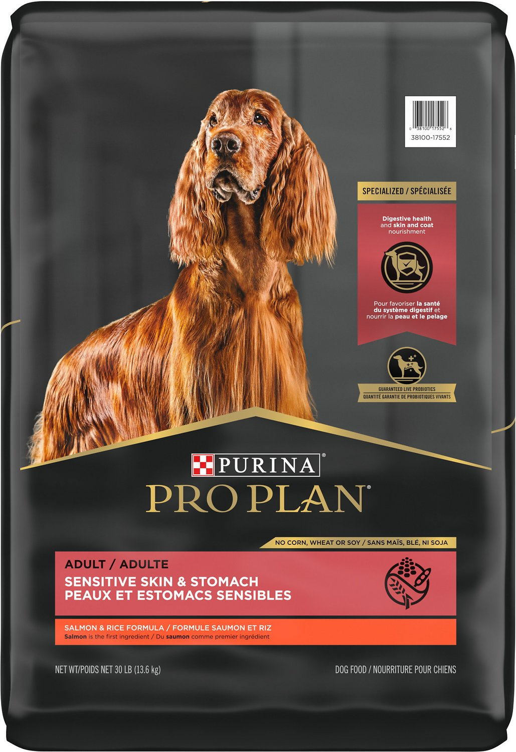 Purina Pro Plan Sensitive Skin & Stomach Adult