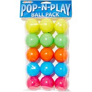Marshall Pop-N-Play Ball Pack Ferret Toy, 15 count