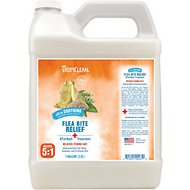 TropiClean Natural AfterBath Flea & Tick Bite Relief Dog & Cat Treatment, 1-gal