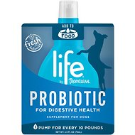 TropiClean Life ProBiotic Dog Supplement, 2.5-oz pouch