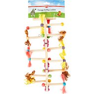 Kaytee Forage-N-Play Ladder Bird Toy, Medium