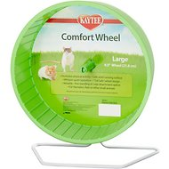 Kaytee Comfort Small Animal Exercise Wheel, 8.5-inch