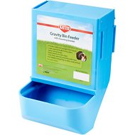 Kaytee Gravity Bin with Mounting Bracket Small Animal Feeder, 8.25-in