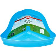 Kaytee H-Corner Small Animal Litter Pan, 13.75-in