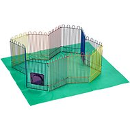 Kaytee CritterTrail Small Animal Playpen, 12.5-inch
