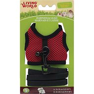 Living World Small Animal Harness & Lead, Small