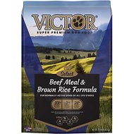 Victor Select Beef Meal & Brown Rice Dry Dog Food, 15-lb bag