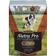 VICTOR Select Nutra Pro Active Dog & Puppy Formula Dry Dog Food, 15-lb bag