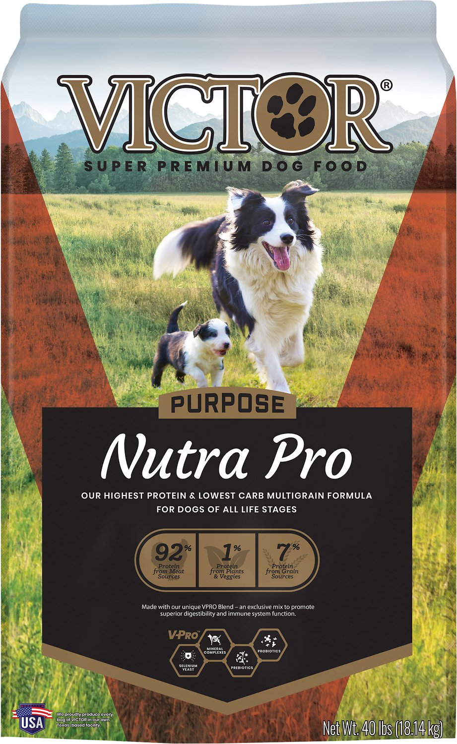 VICTOR Select Nutra Pro Active Dog & Puppy Formula