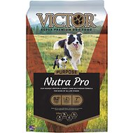 VICTOR Select Nutra Pro Active Dog & Puppy Formula Dry Dog Food, 40-lb bag