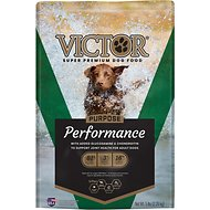Victor Performance Formula Dry Dog Food, 5-lb bag