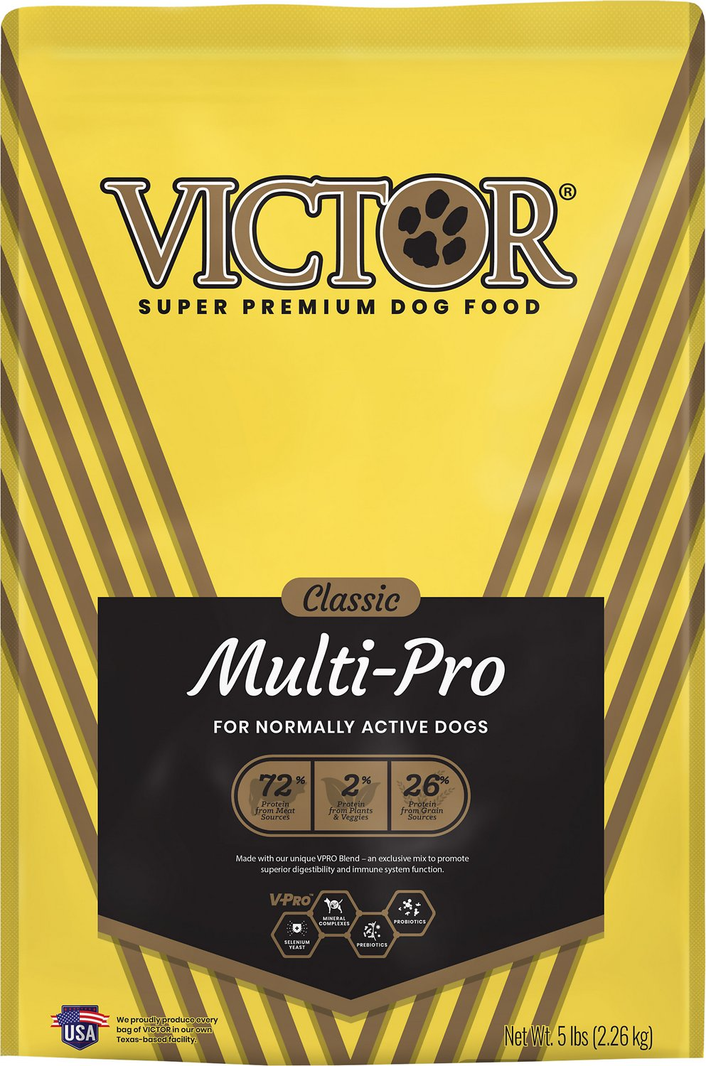 Victor Dog Food Reviews >> Victor Multi-Pro Dry Dog Food, 5-lb bag - Chewy.com