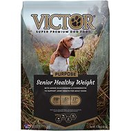 Victor Senior Healthy Weight Dry Dog Food, 15-lb bag