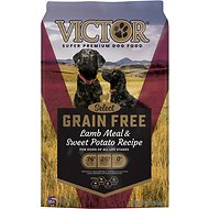 Victor Grain-Free Prairie Land Canine with Lamb Meal & Sweet Potato Dry Dog Food, 30-lb bag