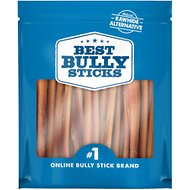 "Best Bully Sticks Odor-Free 6"" Angus Bully Sticks Dog Treats, 20 count"