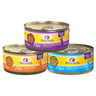 Wellness Complete Health Poultry Lovers Pate Variety Pack Grain-Free Canned Cat Food, 5.5-oz, case of 30