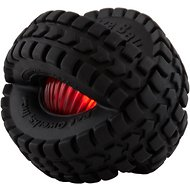 Pet Qwerks Blinky X-Tire Ball Toy, 5-in