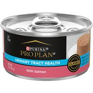 Purina Pro Plan Focus Adult Urinary Tract Health Formula with Salmon Classic Canned Cat Food, 3-oz, case of 24