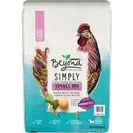Purina Beyond Small Dog White Meat Chicken, Barley & Egg Recipe Dry Dog Food, 14-lb bag