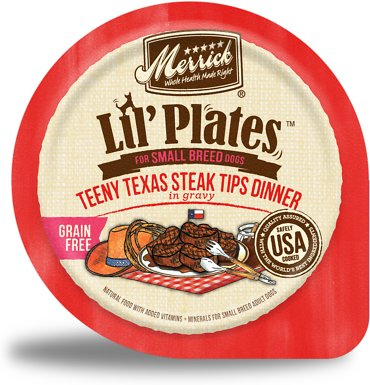 5. Merrick Lil' Plates for Small Breed Dogs