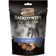 Merrick Backcountry Grain-Free Real Chicken Recipe Freeze-Dried Raw Cat Treats, 1-oz bag