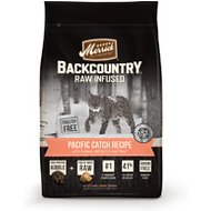 Merrick Backcountry Raw Infused Pacific Catch Recipe Grain-Free Dry Cat Food, 3-lb bag
