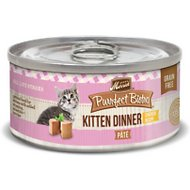 Merrick Purrfect Bistro Grain-Free Kitten Dinner Pate Canned Cat Food, 3-oz, case of 24