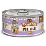 Merrick Purrfect Bistro Grain-Free Rabbit Pate Canned Cat Food, 3-oz, case of 24