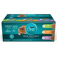 Purina ONE True Instinct Turkey, Chicken & Tuna Variety Pack Canned Cat Food, 3-oz, case of 12
