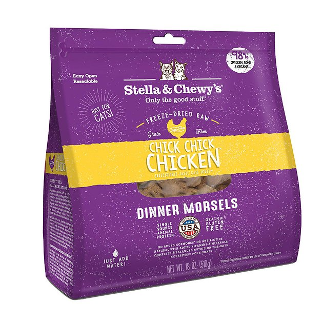 3. Stella & Chewy's Chick Chick Chicken Dinner Freeze