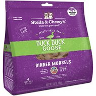 Stella & Chewy's Duck Duck Goose Dinner Morsels Freeze-Dried Raw Cat Food, 3.5-oz bag