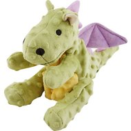 GoDog Dragons Chew Guard Dog Toy, Lime Green, Large
