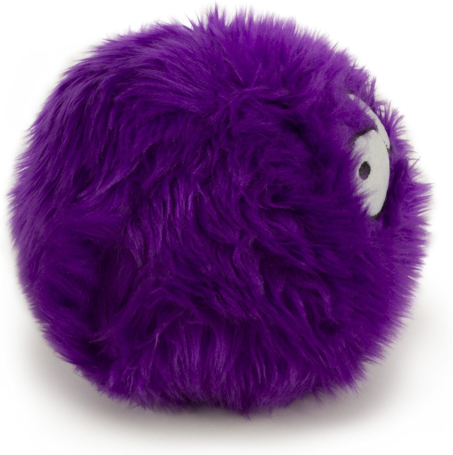 Godog Furballz Chew Guard Dog Toy Purple Large Chewy Com