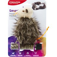 SmartyKat Madcap Mania Refillable Catnip Cat Toy, Character Varies
