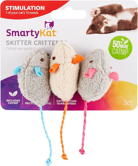 SmartyKat Skitter Critters Catnip Cat Toy Chewy