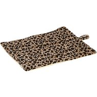Meow Town Thermal Cat Mat, Leopard Brown
