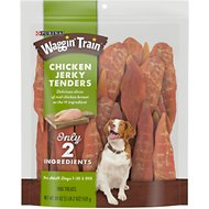 Waggin' Train Chicken Jerky Tenders Dog Treats, 18-oz bag