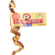 Smokehouse Porky Pizzle Twist Dog Treats, 1 count