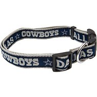 Pets First NFL Dog Collar, Dallas Cowboys, Medium