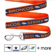 Pets First Denver Broncos Dog Leash, Small